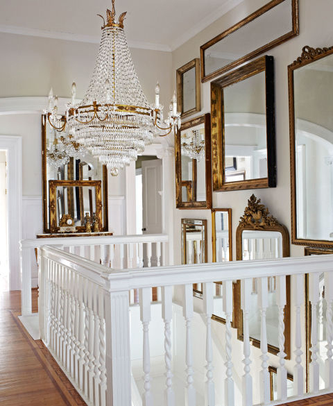 Decorating with Mirrors - Single, Groupings, and Mixing Styles