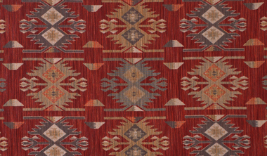 tribal print colored fabric swatch