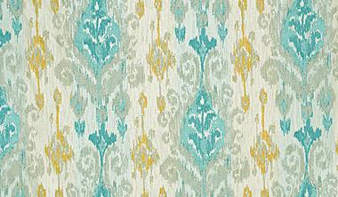 aqua colored fabric swatch