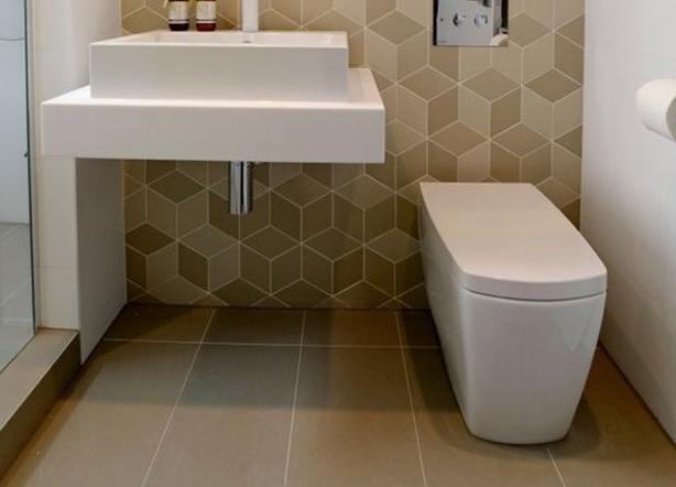 beige toilet
