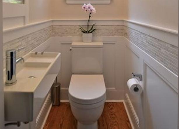 linen toilet