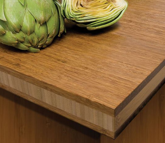 bamboo wood countertop