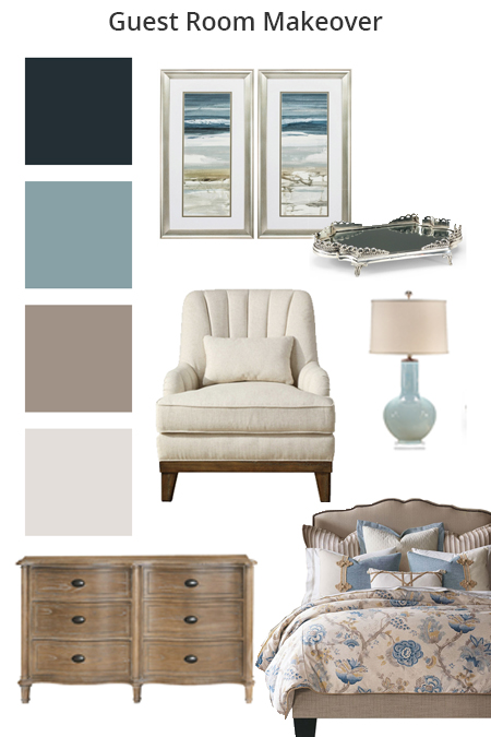 guest room finishes and color examples